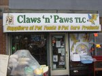 Claws 'n' Paws by Impact signs Ossett