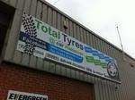 Total tyres by Impact signs Ossett