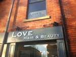 Love Hair & Beauty by Impact signs Ossett