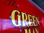 The Green Man barge by Impact signs Ossett
