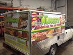Hungry Food Van by Impact signs Ossett