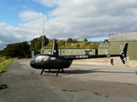 Helicopter signage by Impact signs Ossett