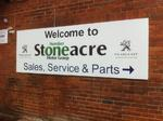 Stoneacre sign by Impact signs Ossett